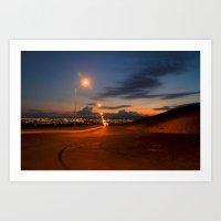 Away From The Lights Art Print