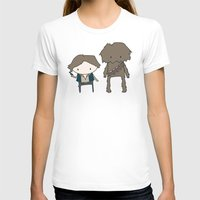 han solo T-shirts featuring Han Solo & Chewie by Justin Temporal