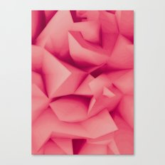 Pink Surface Canvas Print