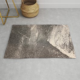 Sandpaper Attrition Rubbing Texture Rug