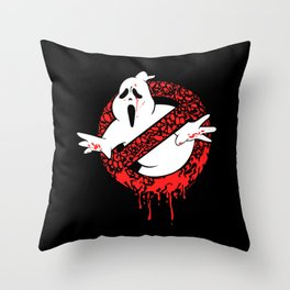 SCREAM BUSTERS Throw Pillow