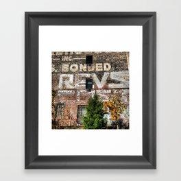 COST REVS Framed Art Print
