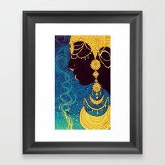 Priestess Framed Art Print