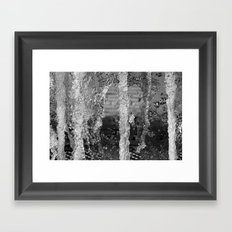 Forest of Fountains Framed Art Print