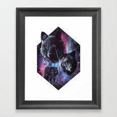 >>WOLF DREAMIN Framed Art Print