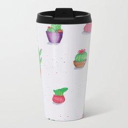 assorted cacti Metal Travel Mug