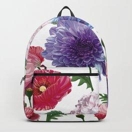 Realistic Flower Botanical Samples Backpack