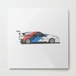BMW M1 Metal Print