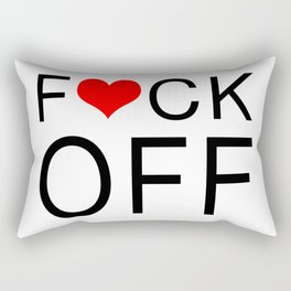 Mind your business and pardon my French Rectangular Pillow
