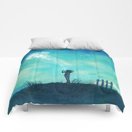 The Thing About Jellyfish Comforters