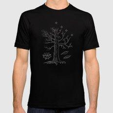 The White Tree of Gondor Mens Fitted Tee Black MEDIUM