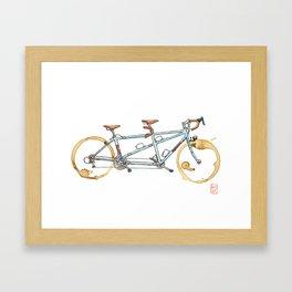 Bilenky Tandem Framed Art Print