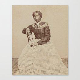Harriet Tubman Vintage Photograph Canvas Print