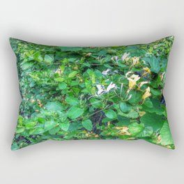 Wild Honeysuckle Rectangular Pillow