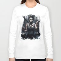tomb raider Long Sleeve T-shirts featuring Tomb Raider by Max Grecke