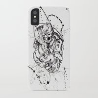 thanos iPhone & iPod Cases featuring Big Thanos by Caos Store