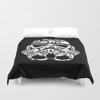 xbox Duvet Covers featuring Trooper by eARTh