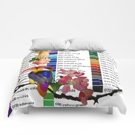 Colour Chart with Kingfisher Comforters