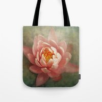 lotus Tote Bags featuring Lotus by Pauline Fowler ( Polly470 )