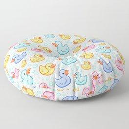 Rubber Duckie Floor Pillow