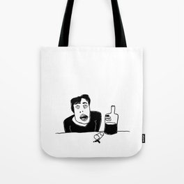 Vodka (drinking alone) Tote Bag