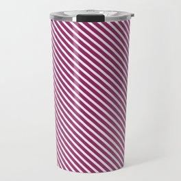 Festival Fuchsia Stripe Travel Mug