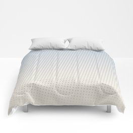 Slate Halftone Comforters