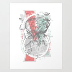 flour·ish Art Print