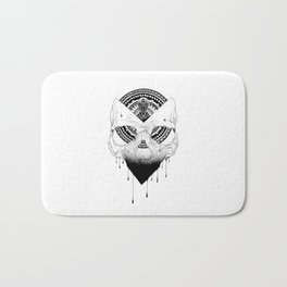 Enigmatic Skull Bath Mat