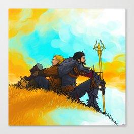 Nomads Canvas Print