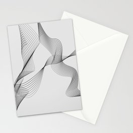 ''Dove Collection'' - Minimal Letter A Print Stationery Cards