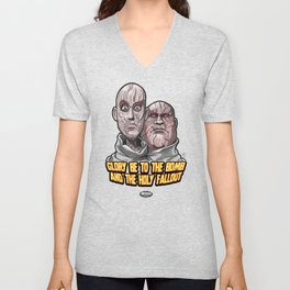 Behind The Planet Of The Apes Mutants Unisex V-Neck
