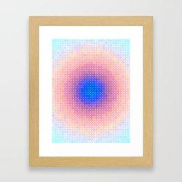 Ripple VI Pixelated Framed Art Print