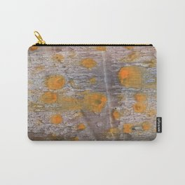 Yellow brown spots watercolor Carry-All Pouch
