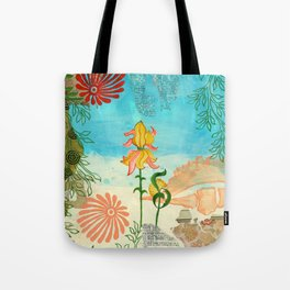Sea Shell Flowers I Tote Bag