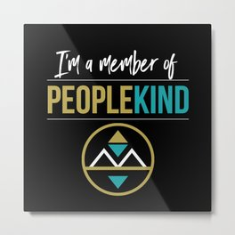 PeopleKind Metal Print