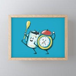 Wake up! Wake up! Framed Mini Art Print