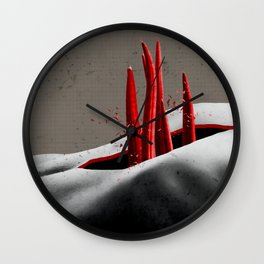 flesh searches for more than flesh Wall Clock