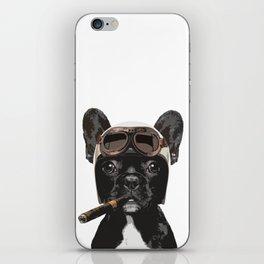 French bulldog Patrol iPhone Skin