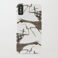 cowboy iPhone & iPod Cases featuring Cowboy by Peerro