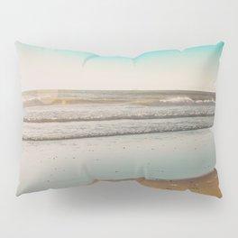 Golden Beach Days Pillow Sham