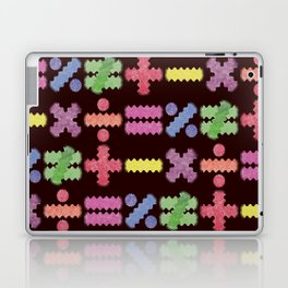 Seamless Colorful Abstract Mathematical Symbols Pattern II Laptop & iPad Skin