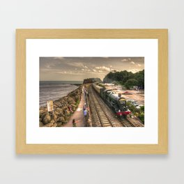 Torbay Express at Dawlish Warren  Framed Art Print