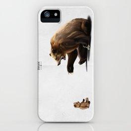 Brunt (wordless) iPhone Case