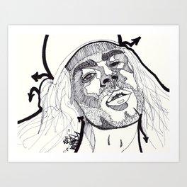MOD SUN. Art Print