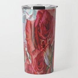 Adoration Of Roses Travel Mug
