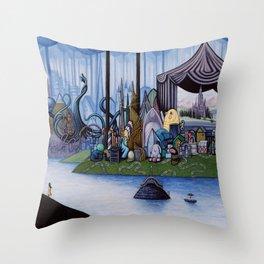 The Golden Mean Throw Pillow