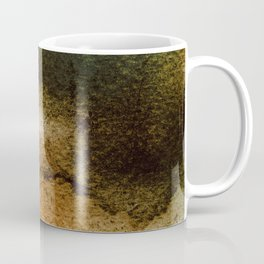 ABSTRACT GOLD TANGERINE AQUARELL Coffee Mug