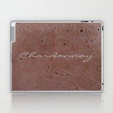 Chardonnay Wine Red Travertine - Rustic - Rustic Glam Laptop & iPad Skin