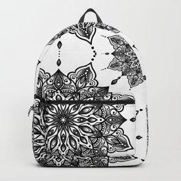 monika's mandala with love Backpack